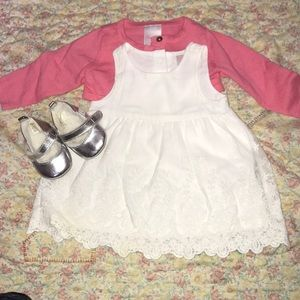 Easter Dress and Shoes